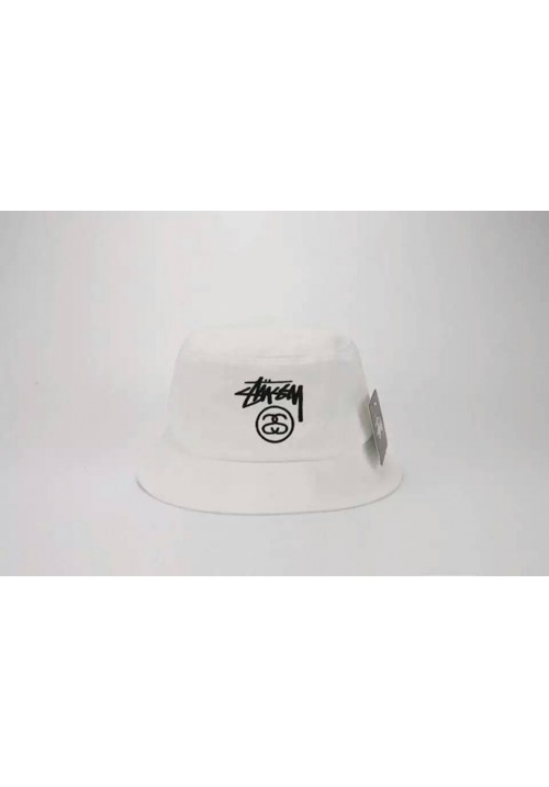 Stussy Classic Bucket Hat (White)