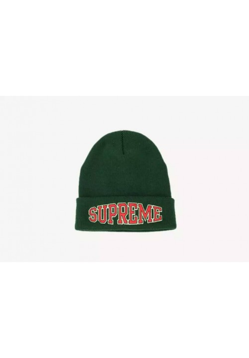 Supreme Worldwide Beanie Hat (Green)