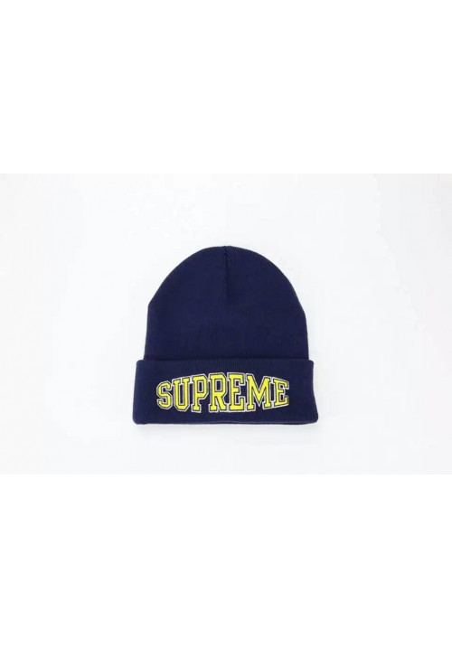Supreme Worldwide Beanie Hat (Navy)