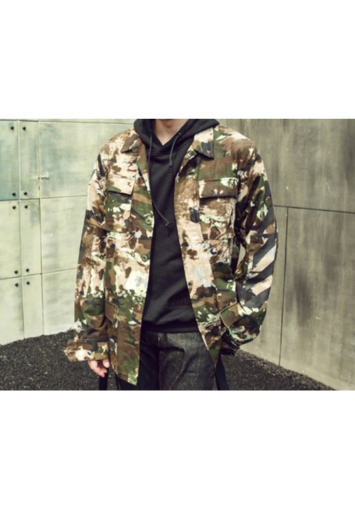 Off White Camouflage Jacket (Camou)
