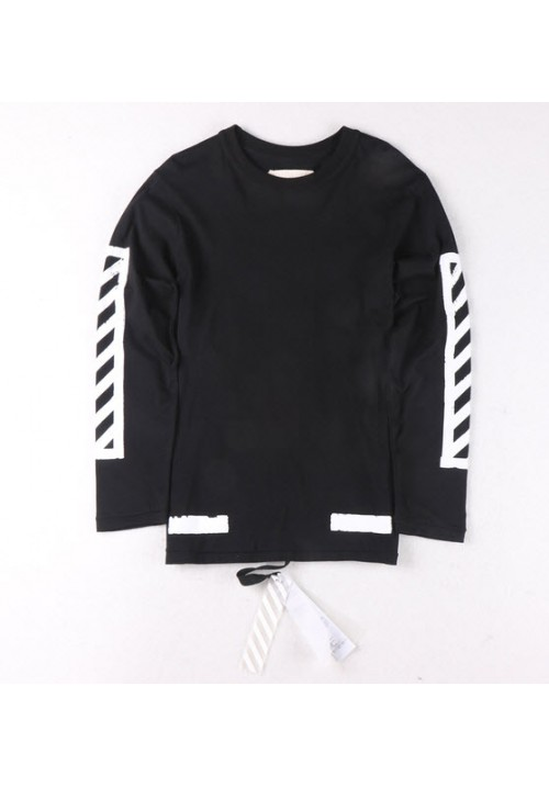 Off White Block Long Sleeve (Black)