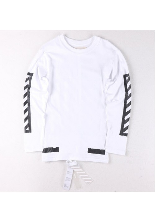 Off White Block Long Sleeve (White)