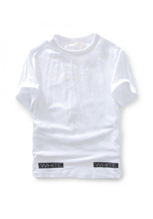Off White Orange Box T-Shirt (White)