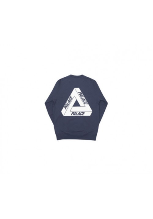 Palace Tri Logo Long Sleeves (Navy)