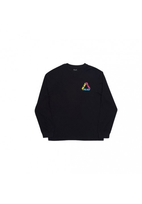 Palace Triangle Letters Long Sleeves (Black)