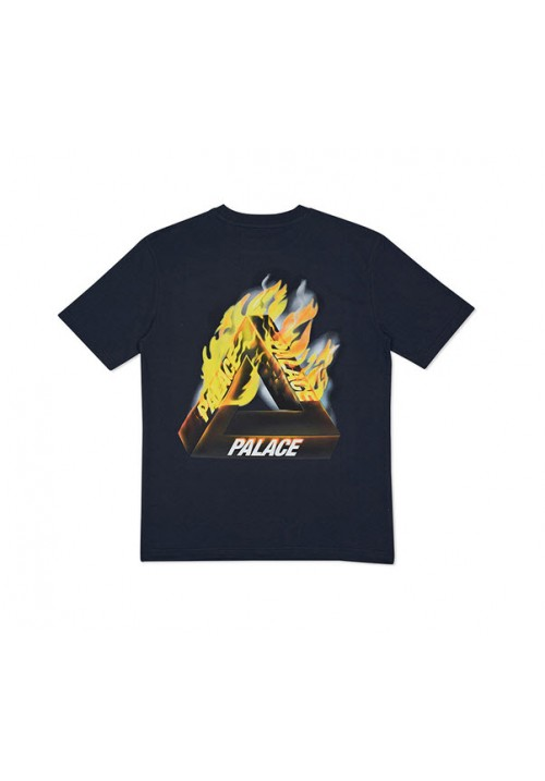 Palace Flame T-Shirt (Black)