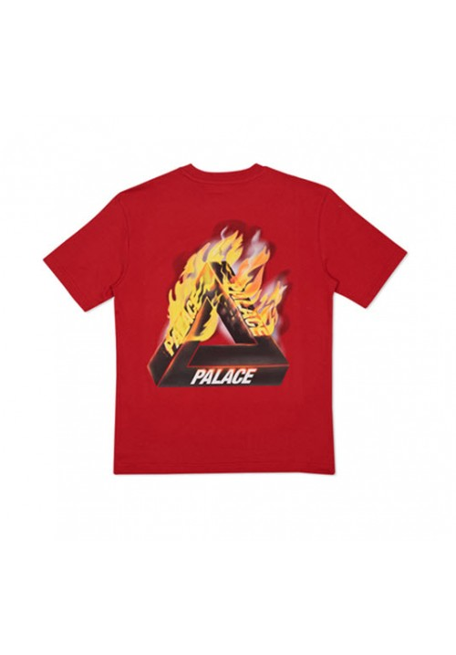 Palace Flame T-Shirt (Red)