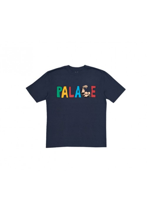 Palace Muscle T-Shirt (Navy)