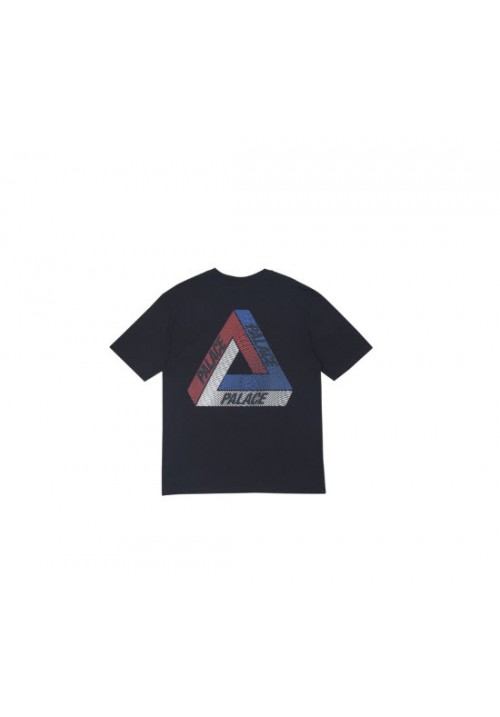 Palace Tri Color T-Shirt (Black)