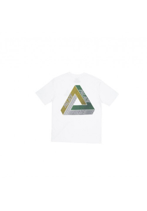 Palace Tri Color T-Shirt (White)