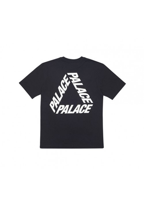 Palace Triangle Letters T-Shirt (Black)