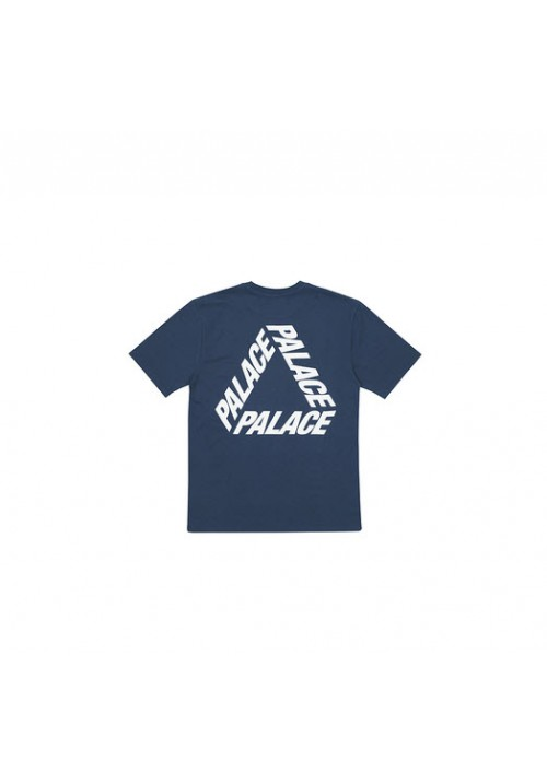 Palace Triangle Letters T-Shirt (Navy)