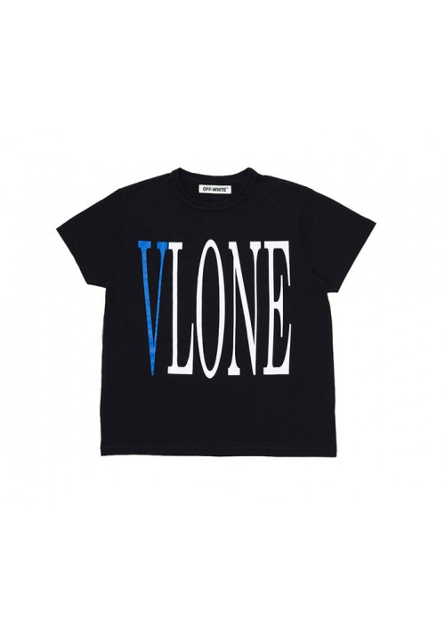 VLONE Blue V T-Shirt (Black)