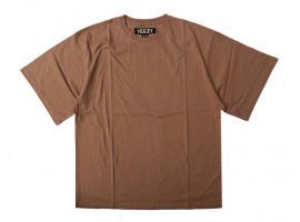 Yeezy OS Oversize T-Shirt (Brown)