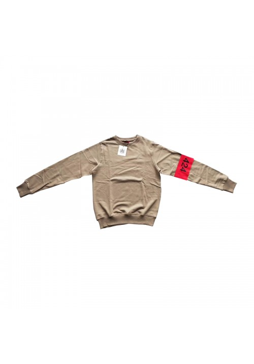 424 Sleeve Logo Sweater (Brown)