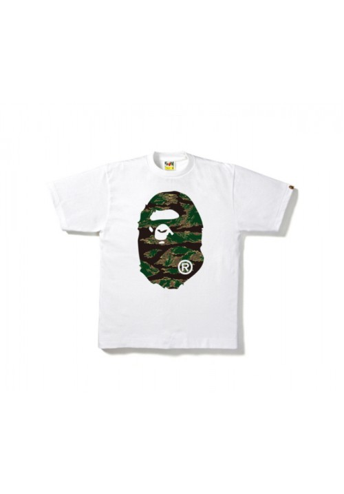 A Bathing Ape Bape Tiger Camo T-Shirt (White)