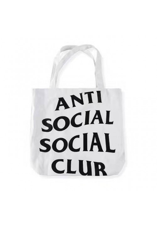 Anti Social Social Club ASSC Tote Bag (White)