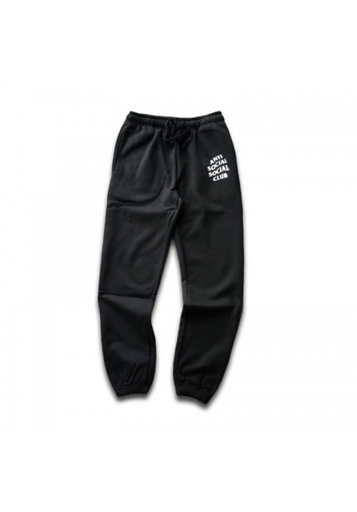 Anti Social Social Club Logo Sweatpants (Black)