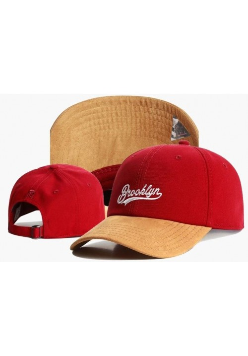 Cayler And Sons Brooklyn Baseball Cap (Red/Orange)