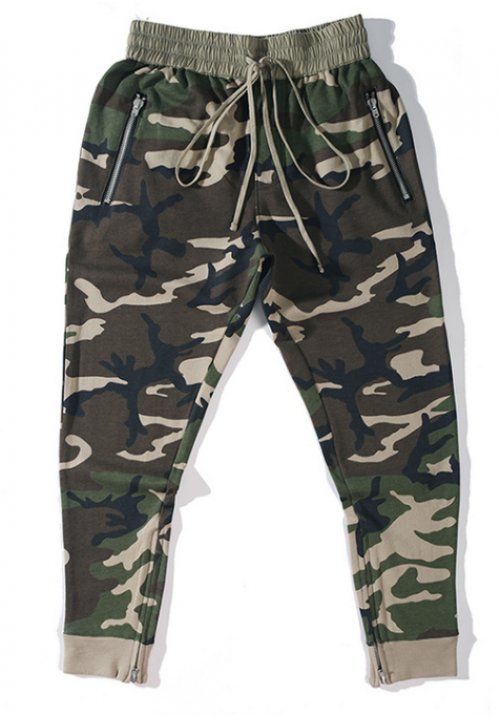 Fear Of God Camo Sweatpants (Green)
