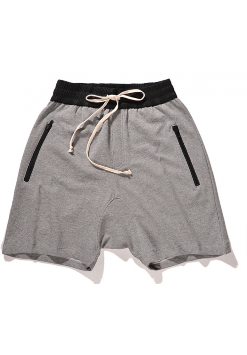 Fear Of God Zipper Harem Shorts (Gray)