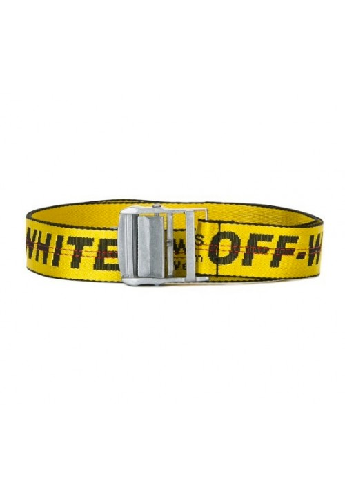 Off White 2017 SS Belt (Yellow)