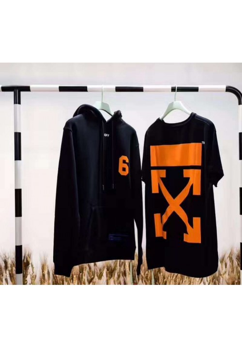 Off White Number 6 Arrow T-Shirt (Black)