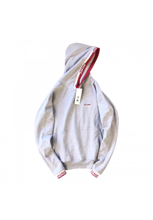 Palace Splitter Hoodie (Gray)