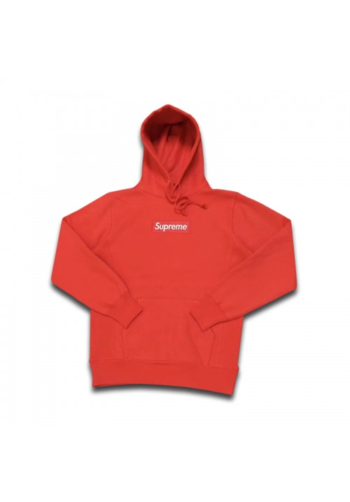 Supreme Box Logo Pullover Hoodie (Red)