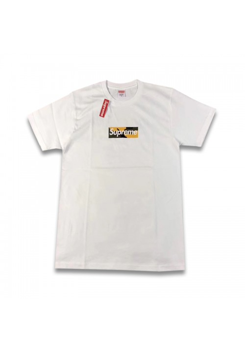 Supreme Box Logo Brooklyn Tee (White)