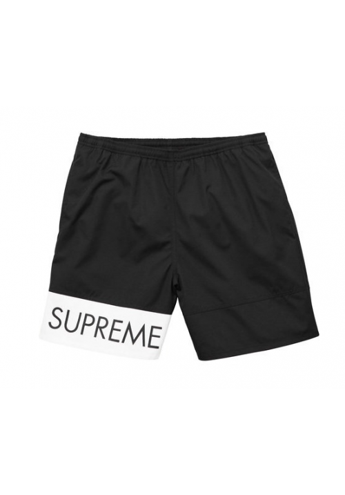 Supreme Banner Water Shorts (Black)