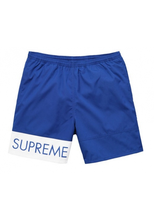 Supreme Banner Water Shorts (Blue)