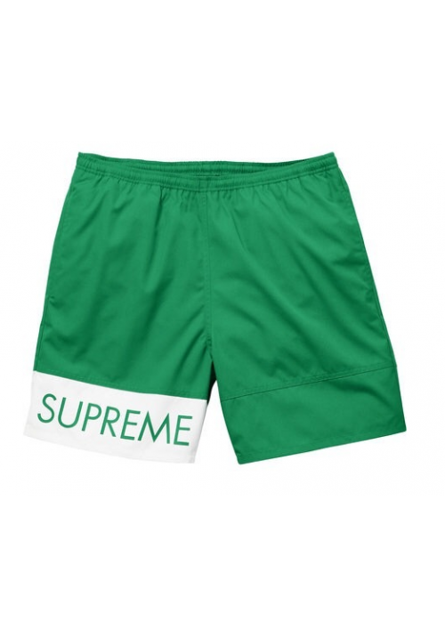 Supreme Banner Water Shorts (Green)