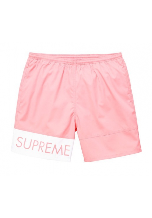Supreme Banner Water Shorts (Pink)
