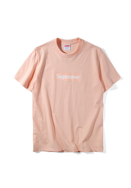 Supreme Box Logo T-Shirt (Pink)