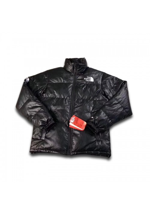 The North Face Supreme Leather Nuptse Jacket (Black)