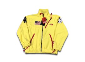 The North Face Supreme SS17 Polartec Fleece Jacket (Yellow)