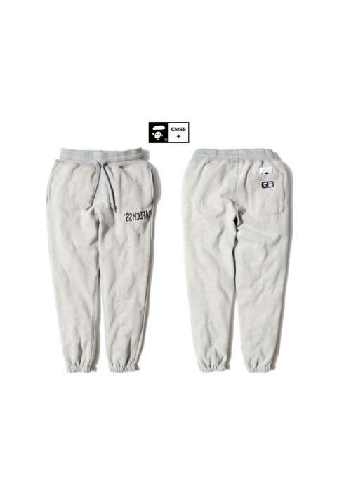 A Bathing Ape Bape CMSS Monotone Sweatpants (Gray)