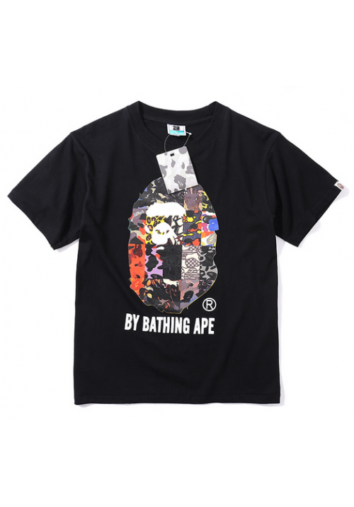 A Bathing Ape Bape Collage T-Shirt (Black)