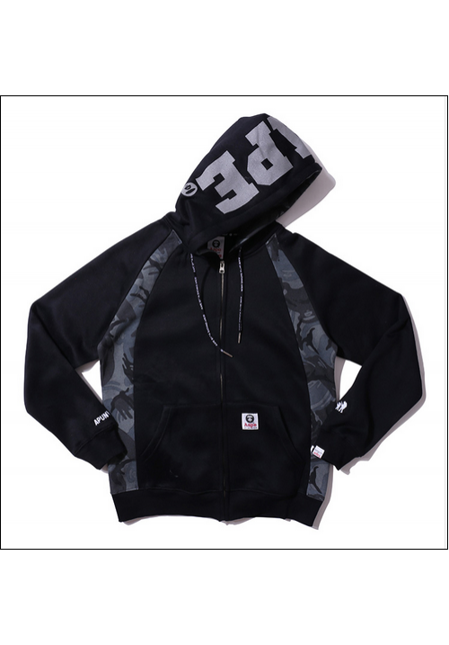 Aape The AAPE Universe Jacket Hoodie (Black)