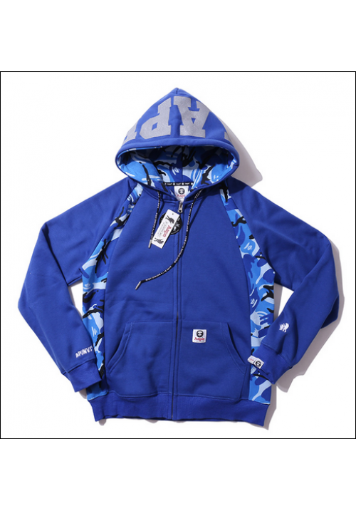 Aape The AAPE Universe Jacket Hoodie (Blue)