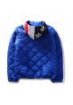 AAPE Quilt Flag Hooded Jacket (Blue)