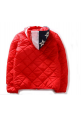 AAPE Quilt Flag Hooded Jacket (Red)