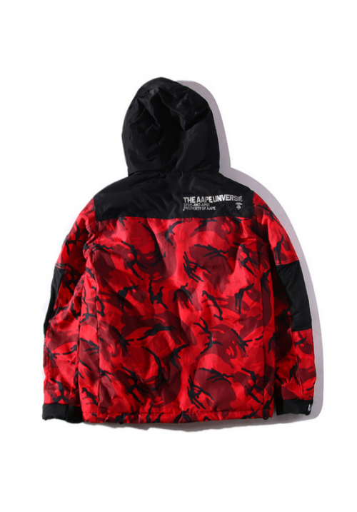 AAPE Universe Camo Explorer Jacket (Red)