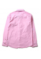 Aape Bape Oxford Flag Face Button Up Shirt (Pink)