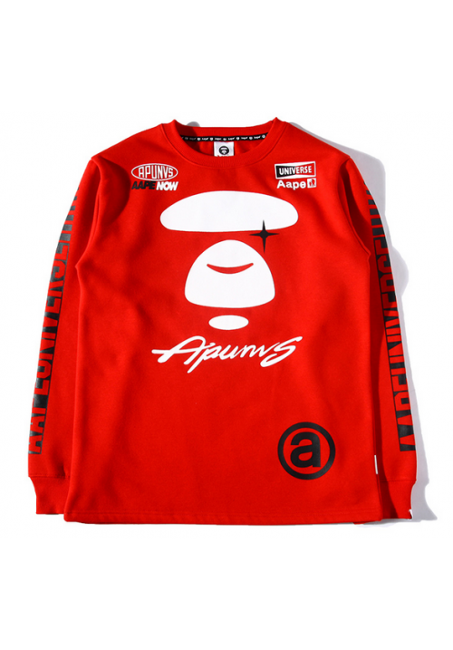 AAPE Now Universe Apunvs Sweater (Red)