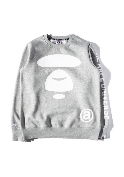 AAPE The AAPE Universe Sweater (Gray)