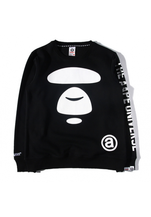 AAPE The AAPE Universe Sweater (Black)