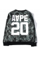 AAPE 20 Camo Sweater (Gray/Black)