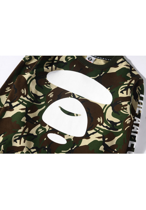 AAPE 20 Camo Sweater (Green)